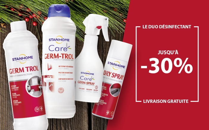 Désinfection Stanhome promotion offre