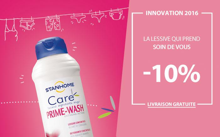 NOUVEAUTE : Prime Wash Care à -10%