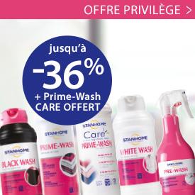 Offre Privilège : Produits pour le linge jusqu'à -36%