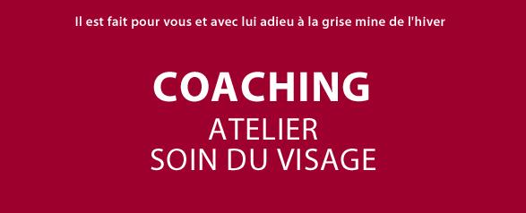 Coaching Atelier Soin du Visage