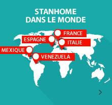 Stanhome dans le monde